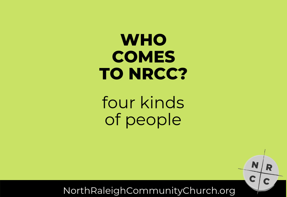 Who Comes to NRCC: The Disillusioned Church Veteran