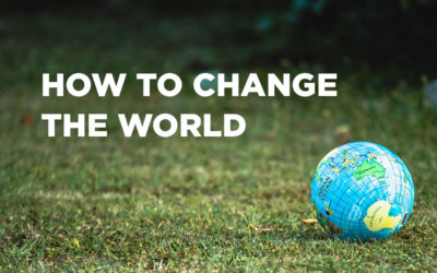 How To Change The World:  Wrap-Up