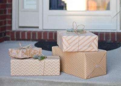 Secret Santa Porch Drop
